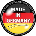 Illustration - made in germany button